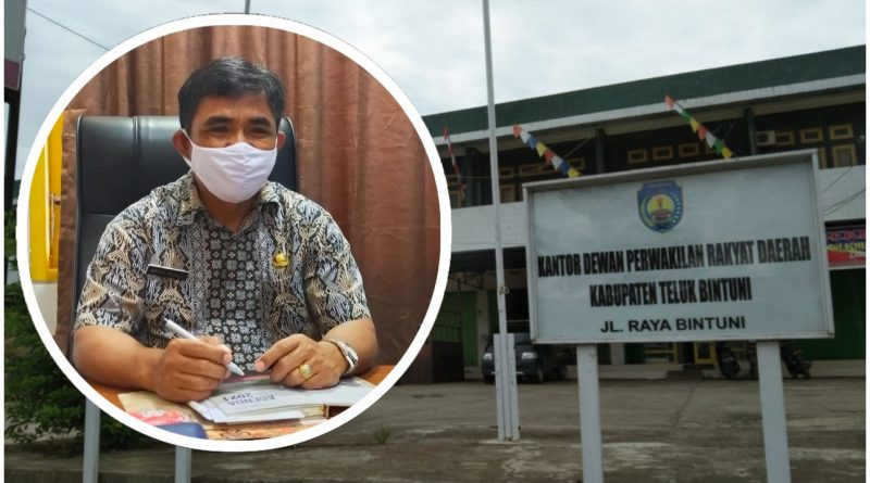 Jajaran Sekwan DPRD Teluk Bintuni Tetap Bekerja di Tengah Pandemi Covid-19