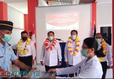 Kakanwil Kemenkumham Papua Barat Tugas kan Enam CPNS di Rutan Teluk Bintuni