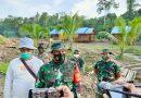 Program TMMD Ke- 111 Berjalan Baik , TNI-POLRI Masyarakat Kerja Sama Di Kampung Idoor