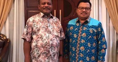 Kabiro Hukum Papua Barat Sampaikan Tiga Hal Penting Kepada Bupati Saat Silahturahmi